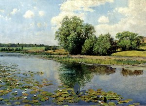 1-rio-Ilya Ostrouhov - River at Midday 1892
